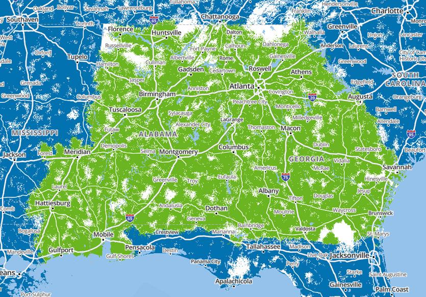 Regional Calling Area