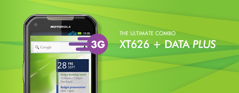 The Ultimate Combo - XT626 + Data Plus